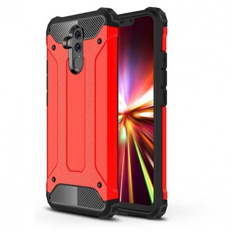 Coque Huawei Mate 20 Lite Anti Choques Rouge