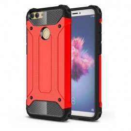 Coque Huawei P Smart Anti Choques Rouge
