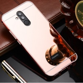 Bumper Huawei Mate 20 Lite Aluminium Mirroir Or Rose