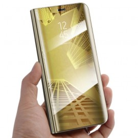 Etuis Huawei Mate 20 Lite Cover Translucide Doré