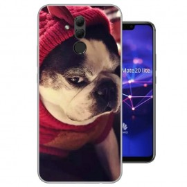 Coque Silicone Huawei Mate 20 Lite Chien