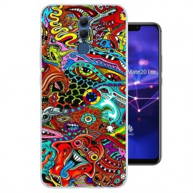 Coque Silicone Huawei Mate 20 Lite Acids