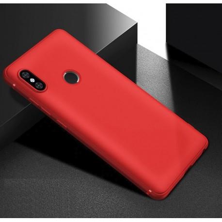 Coque Silicone Xiaomi Redmi Note 6 Pro Extra Fine Rouge