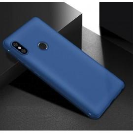 Coque Silicone Xiaomi Redmi Note 6 Pro Extra Fine Bleu