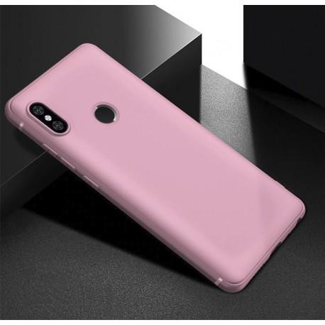 Coque Silicone Xiaomi Redmi Note 6 Pro Extra Fine Rose