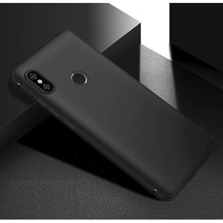 Coque Silicone Xiaomi Redmi Note 6 Pro Extra Fine Noir