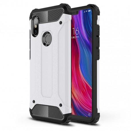 Coque Xiaomi Redmi Note 6 Pro Anti Choques Blanche