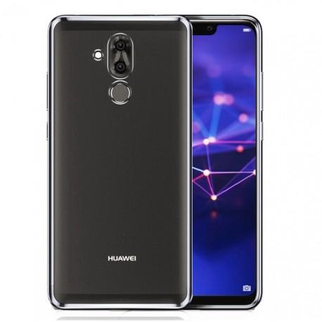 Coque TPU Huawei Mate 20 Lite Chromée Argent