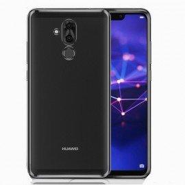 Coque TPU Huawei Mate 20 Lite Chromée Noir