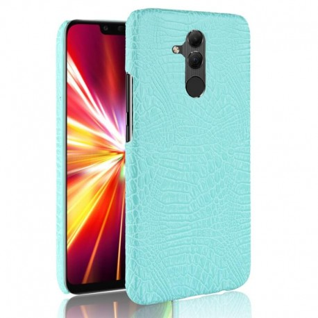 Coque Huawei Mate 20 Lite Cuir Turquoise