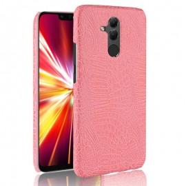 Coque Huawei Mate 20 Lite Cuir Rose