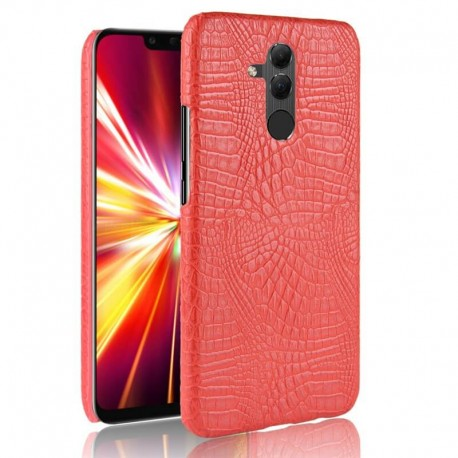 Coque Huawei Mate 20 Lite Cuir Rouge