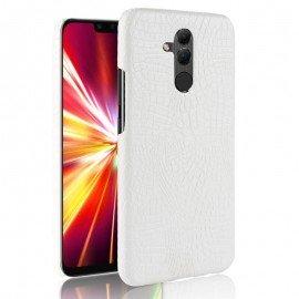Coque Huawei Mate 20 Lite Cuir Blanche