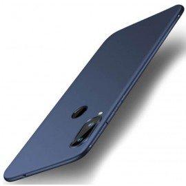 Coque Silicone Honor 8X Extra Fine Bleu