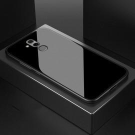 Coque Huawei Mate 20 Lite Silicone Noir et Verre Trempé