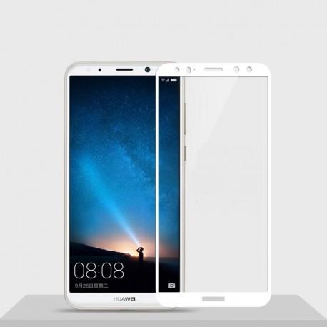Verre trempé Huawei Mate 10 Lite Protecteur d'écran Blanc