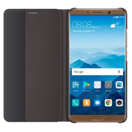 Etuis Officiel Smart Cover Huawei Mate 10 Marron