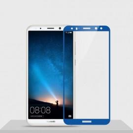 Verre trempé Huawei Mate 10 Lite Protecteur d'écran Bleu