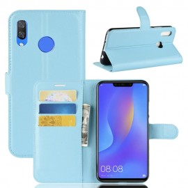 Etuis Portefeuille Honor 8X Simili Cuir Bleu