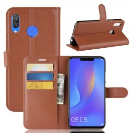 Etuis Portefeuille Honor 8X Simili Cuir Marron