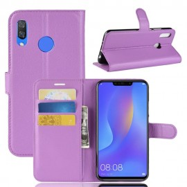 Etuis Portefeuille Honor 8X Simili Cuir Lila