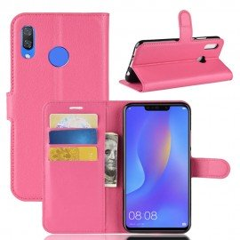 Etuis Portefeuille Honor 8X Simili Cuir Rose