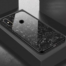 Coque Xiaomi Redmi Note 6 Pro Silicone Noir et Verre Trempé