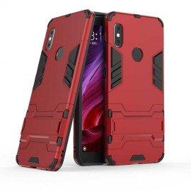 Coque Xiaomi Redmi Note 6 Pro Anti Choques TREX Rouge