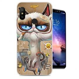 Coque Silicone Xiaomi Redmi Note 6 Pro Vilain Chat