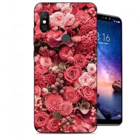 Coque Silicone Xiaomi Redmi Note 6 Pro Roses
