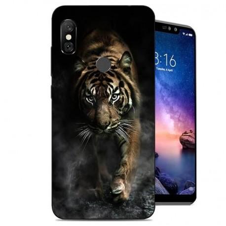 Coque Silicone Xiaomi Redmi Note 6 Pro Tigre