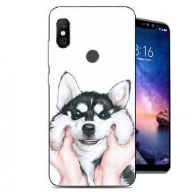 Coque Silicone Xiaomi Redmi Note 6 Pro Husky