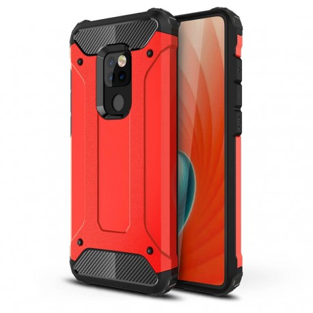 Coque Huawei Mate 20 Anti Choques Rouge