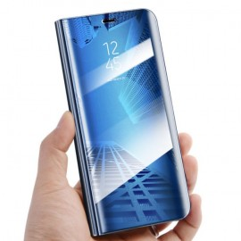 Etuis Huawei Mate 20 Cover Translucide Bleu