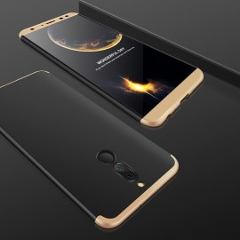 Coque 360 Huawei Mate 10 Lite Noir et Or