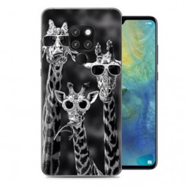 Coque Silicone Huawei Mate 20 Girafes