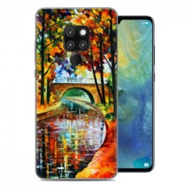 Coque Silicone Huawei Mate 20 Peinture