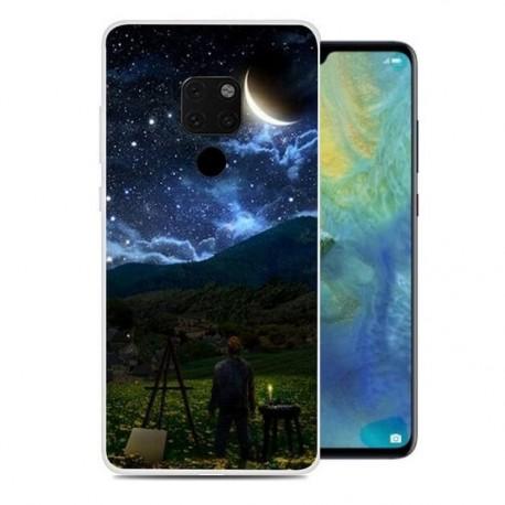 Coque Silicone Huawei Mate 20 Lune