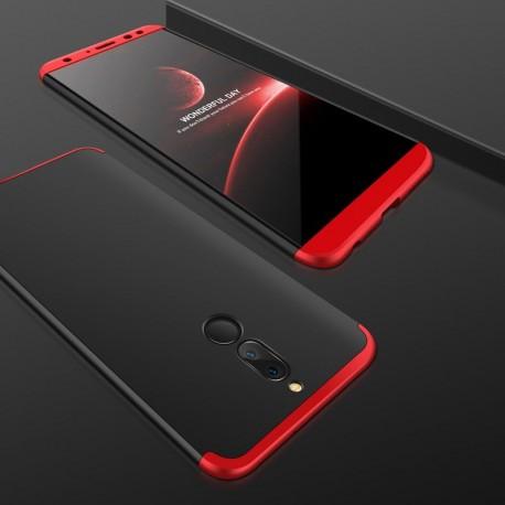Coque 360 Huawei Mate 10 Lite Noir et Rouge