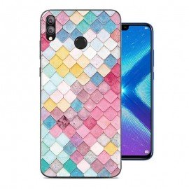 Coque Silicone Honor 8X Aquarelles