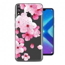 Coque Silicone Honor 8X Fleurs