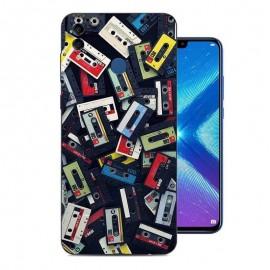 Coque Silicone Honor 8X Cassettes