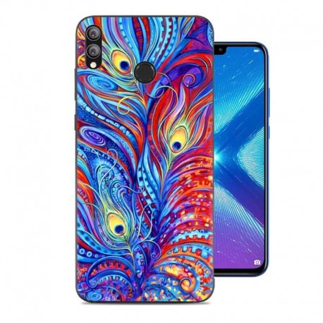 Coque Silicone Honor 8X Plumes