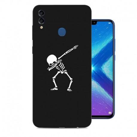 Coque Silicone Honor 8X Squelette