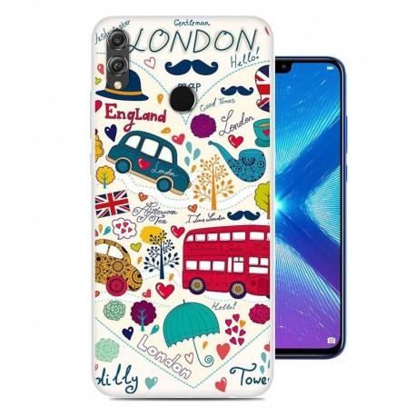 Coque Silicone Honor 8X Londres