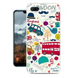 Coque Silicone Honor 10 Londres