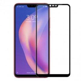 Verre Trempé Xiaomi Mi 8 Lite Protecteur d'écran Noir