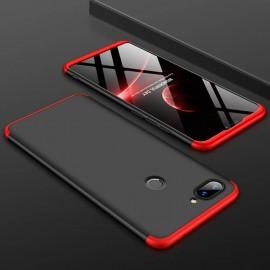Coque 360 Xiaomi MI 8 Lite Noir et Rouge