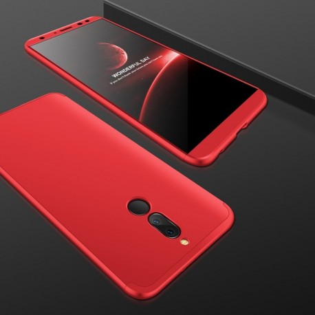 Coque 360 Huawei Mate 10 Lite Rouge