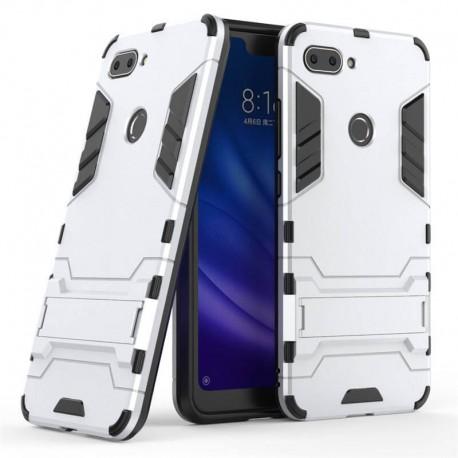 Coque Xiaomi MI 8 Lite Anti Choques TREX Argent